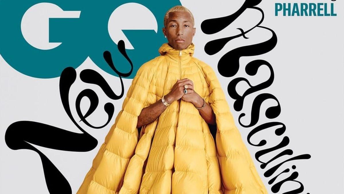 Pharrell Williams címlapfotós szettjére nehéz szavakat találni