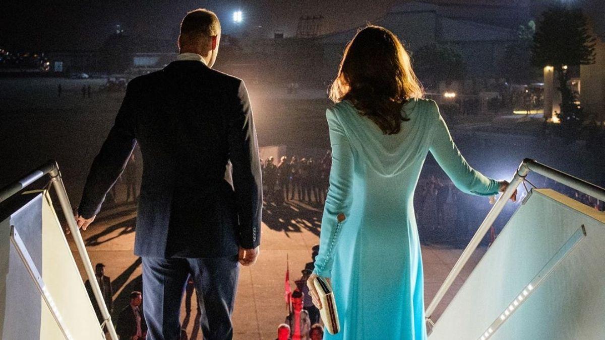 Tökéletes belépővel érkezett meg Pakisztánba Katalin hercegné és Vilmos herceg