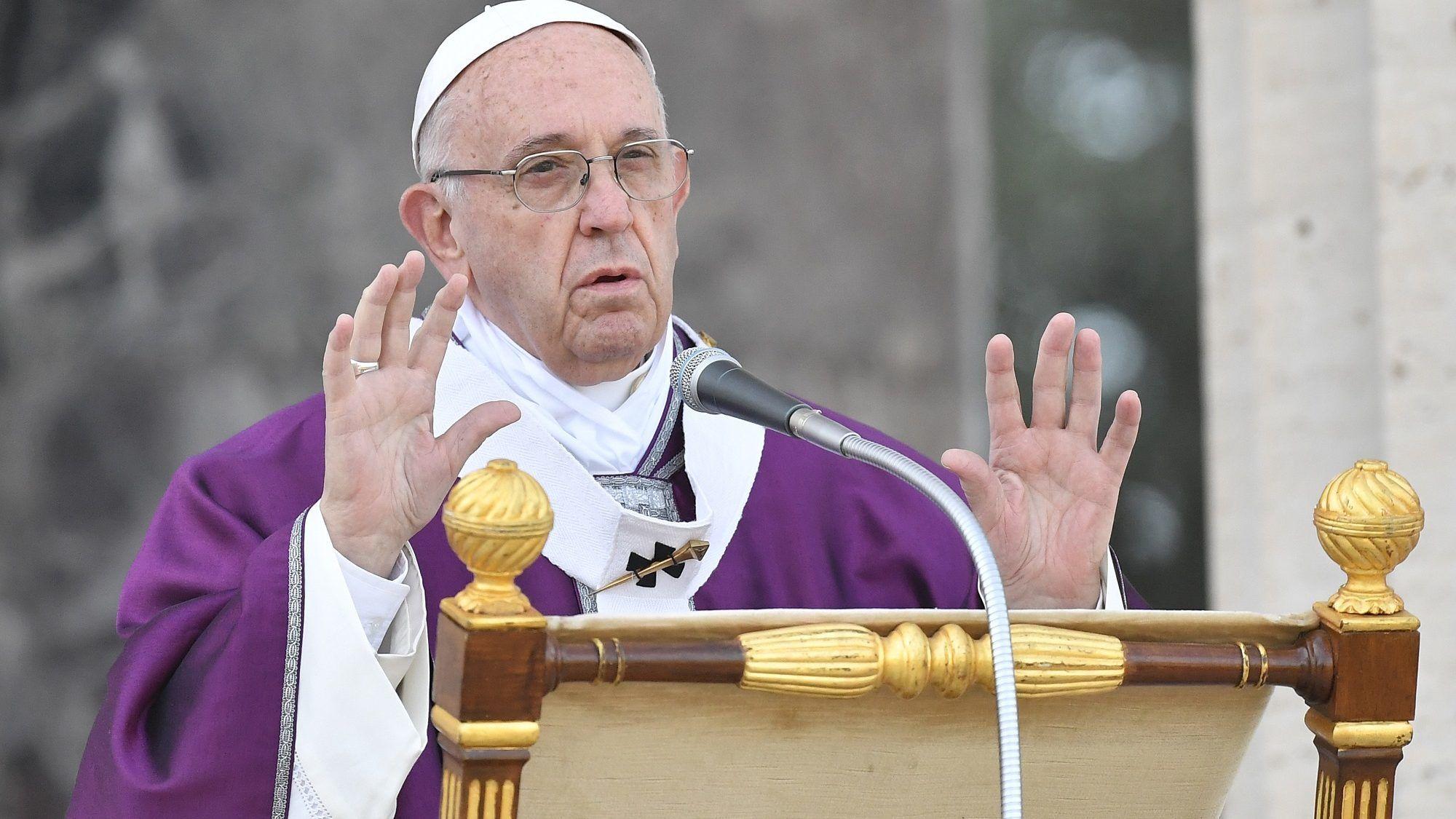 Ferenc pápa szerint máshogy kellene ennünk, ha azt akarjuk, hogy mások ne éhezzenek