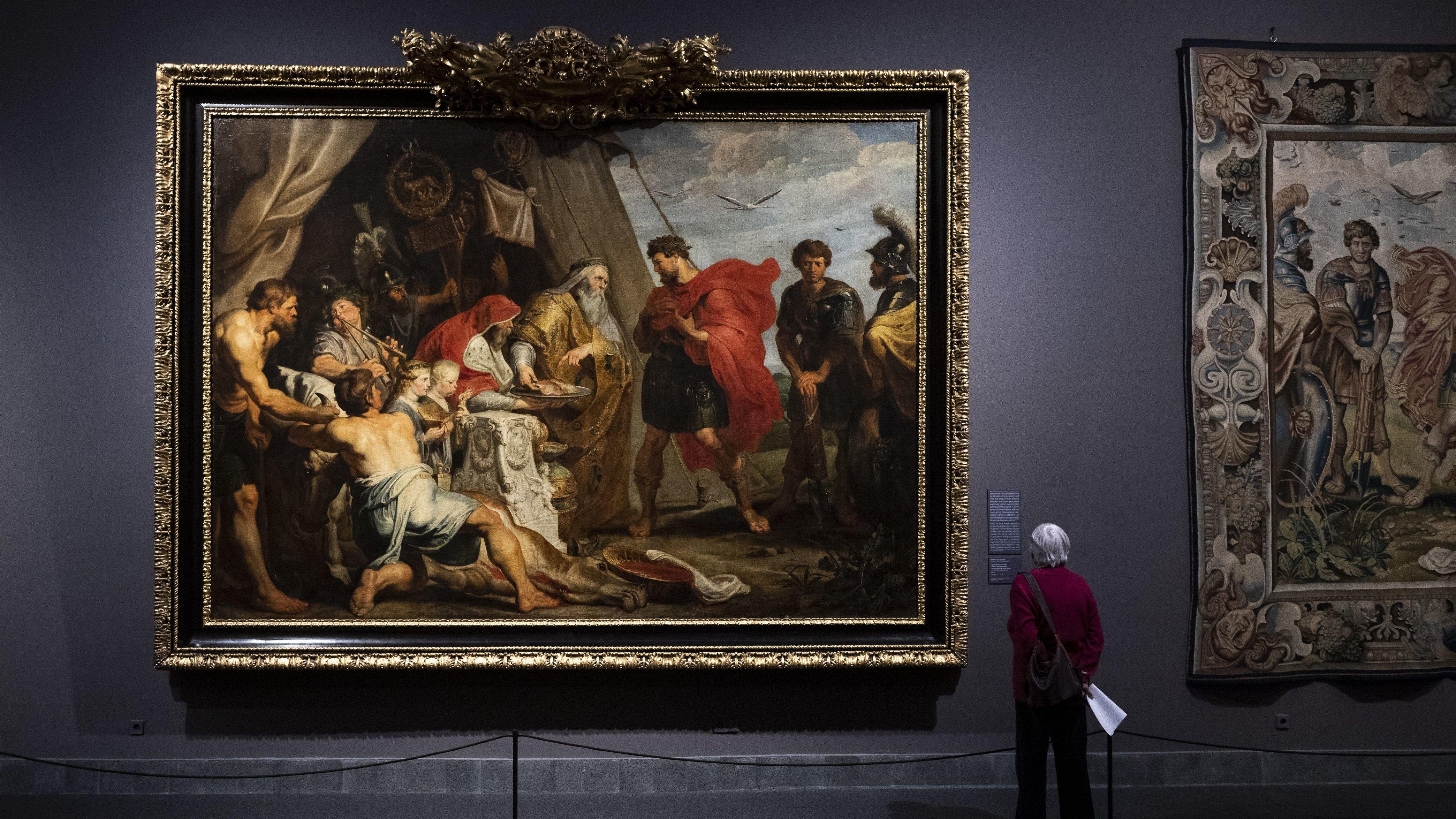 Szerdától mindenki megnézheti Rubens és Van Dyck festményeit a Szépművészetiben