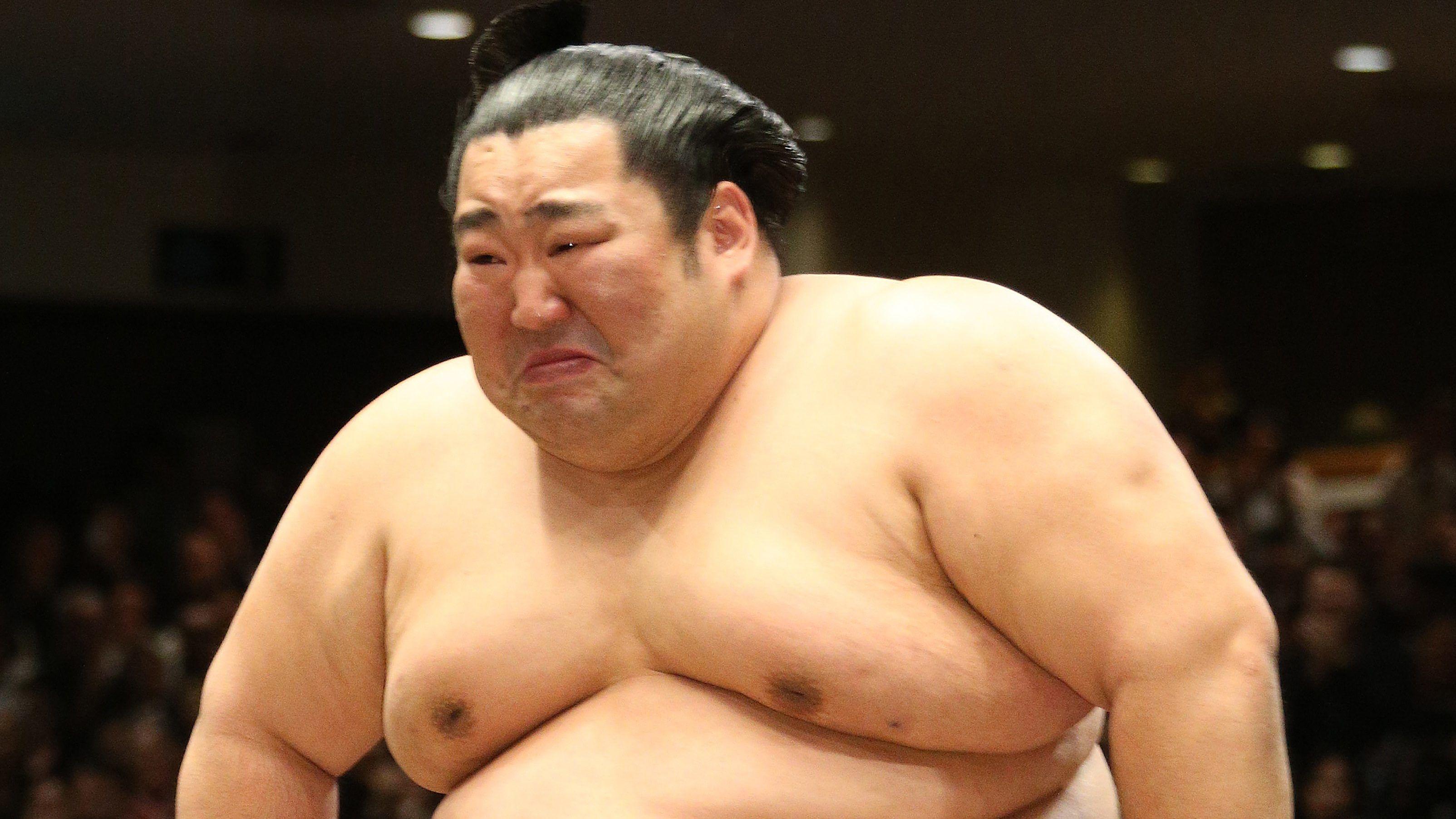 A 188 kilós szumós elsírta magát a tornagyőzelmétől