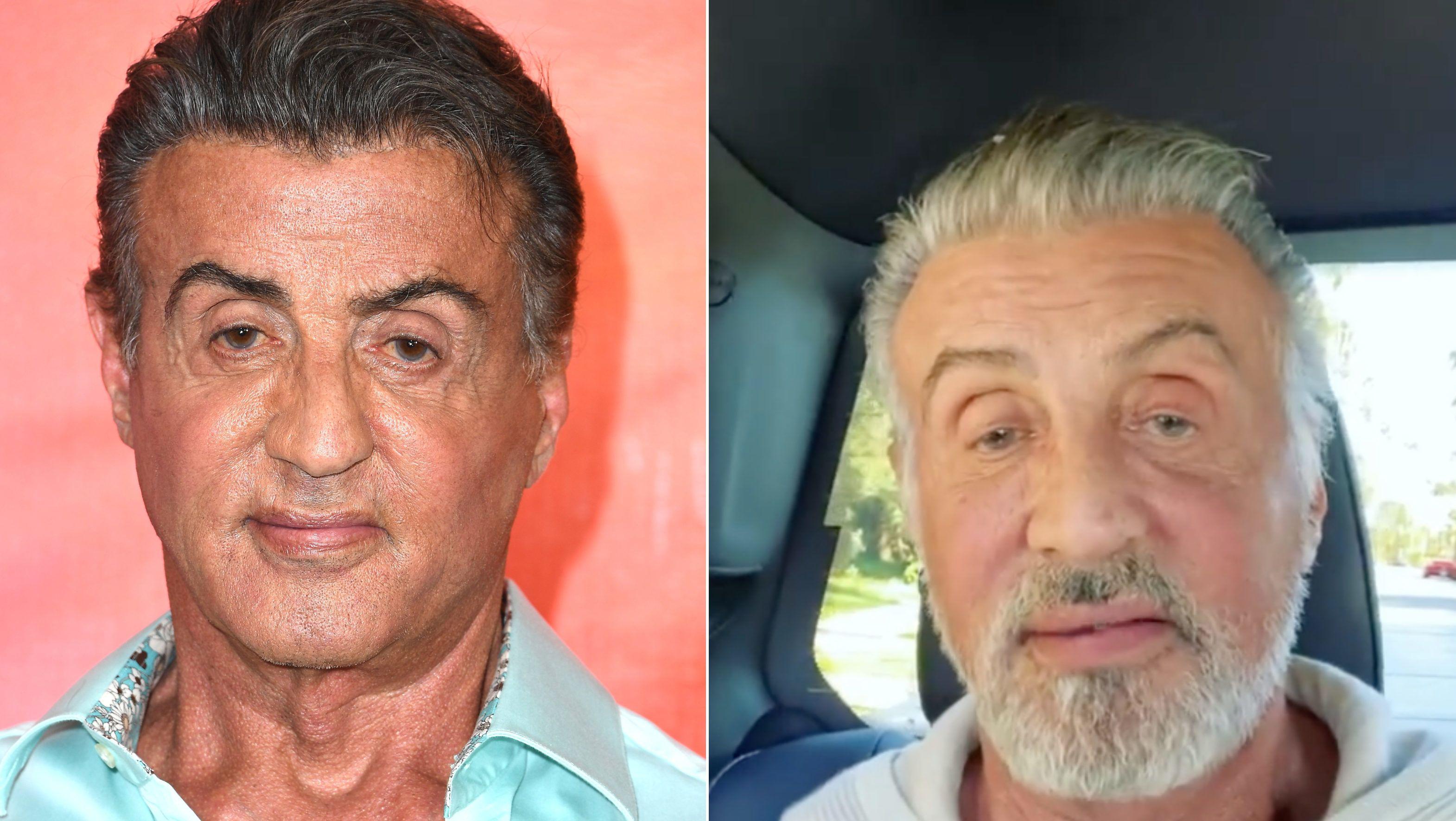 Sylvester Stallone megmutatta, milyen, ha egyáltalán nem festi a haját